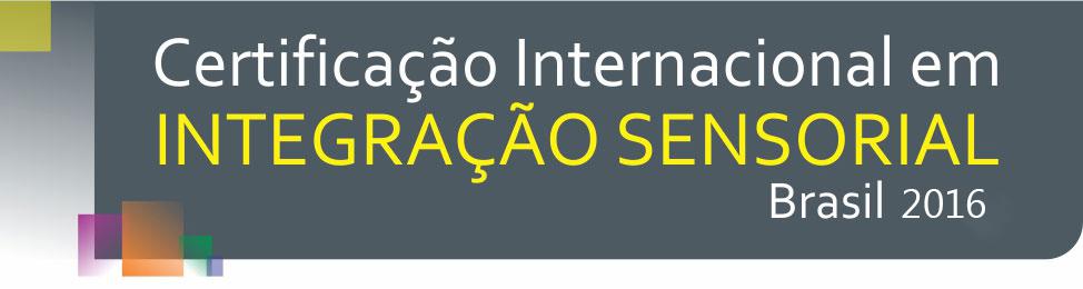 integração sensorial certificação internacional 2016 clinicaludens